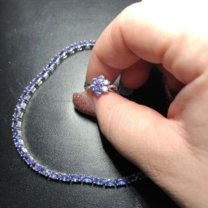 2 beautiful bracelet and ring sets!!